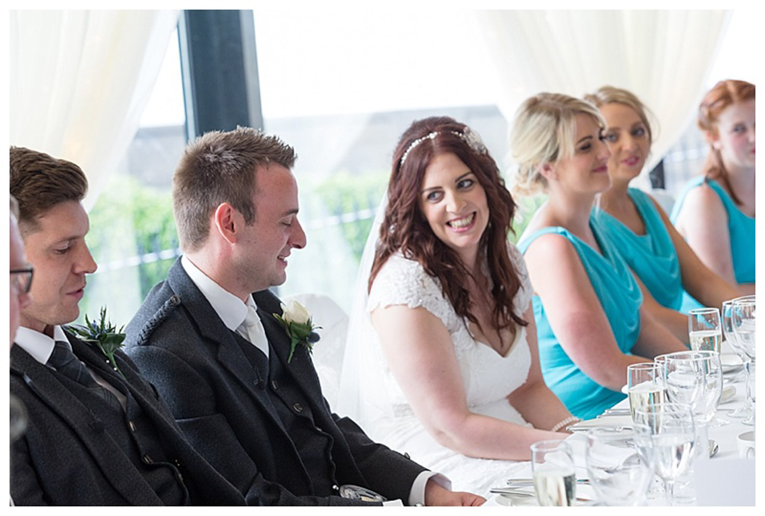 Ballygally Castle Wedding Photographs by Ricky Parker Photography 51