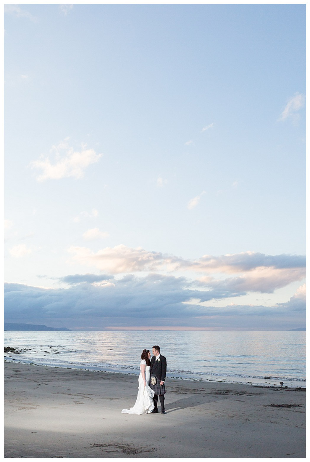 Ballygally Castle Wedding Photographs by Ricky Parker Photography 60