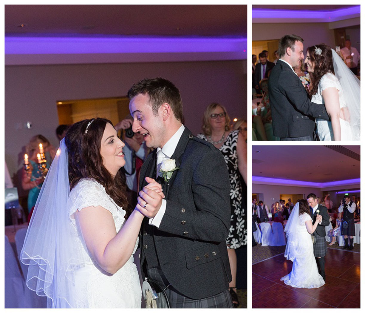 Ballygally Castle Wedding Photographs by Ricky Parker Photography 64