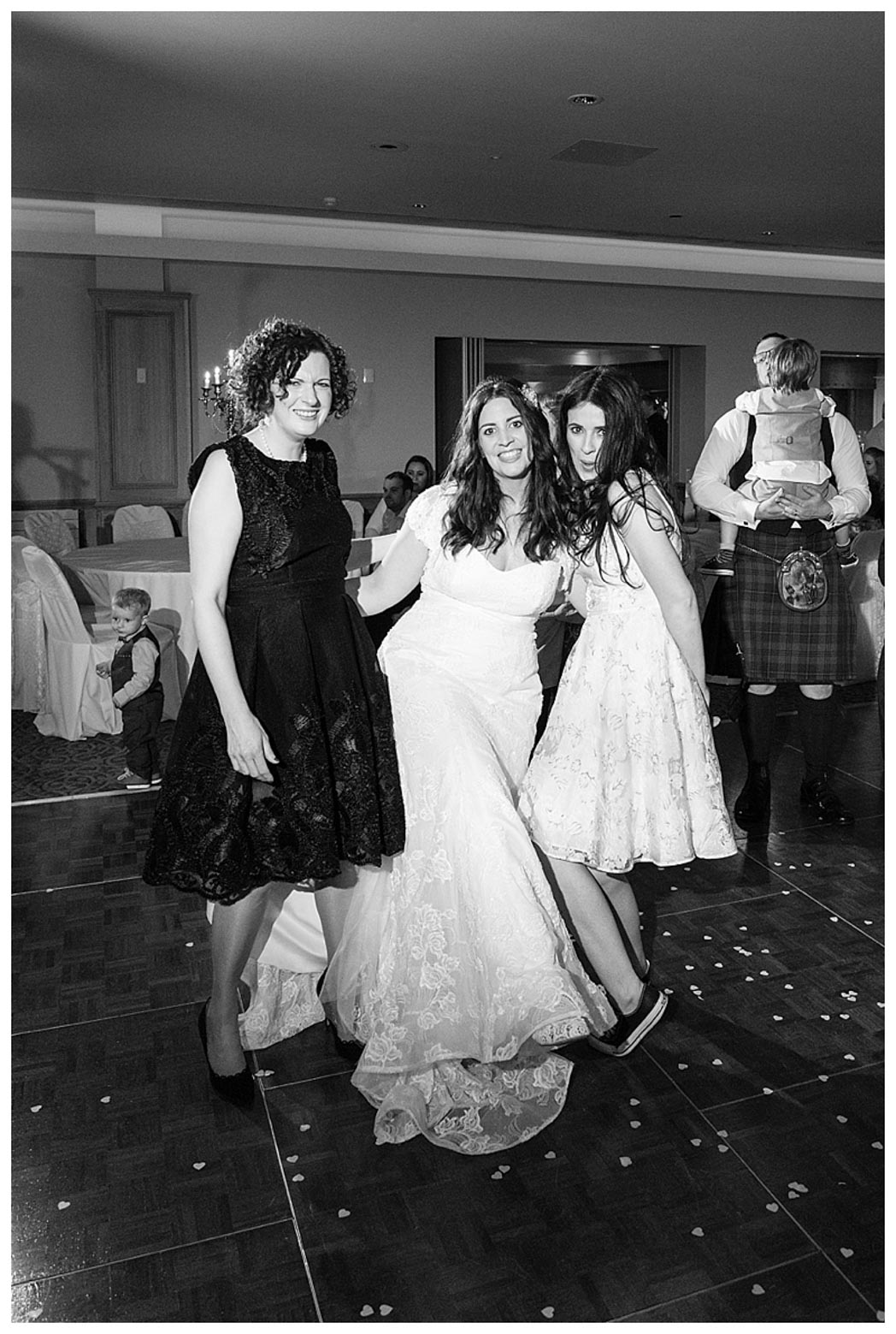 Ballygally Castle Wedding Photographs by Ricky Parker Photography 69