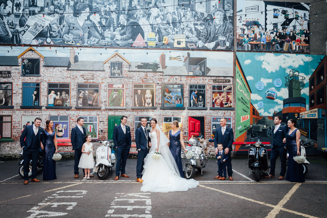 Merchant Hotel Cathedral Quarter Wedding by Ricky Parker Photography 66