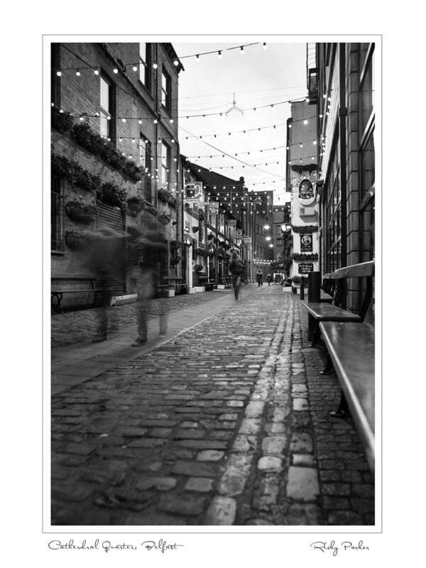 Belfast Cathedral Quarter B&W
