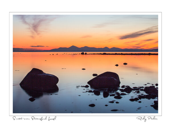 Strangford Lough at Sunset